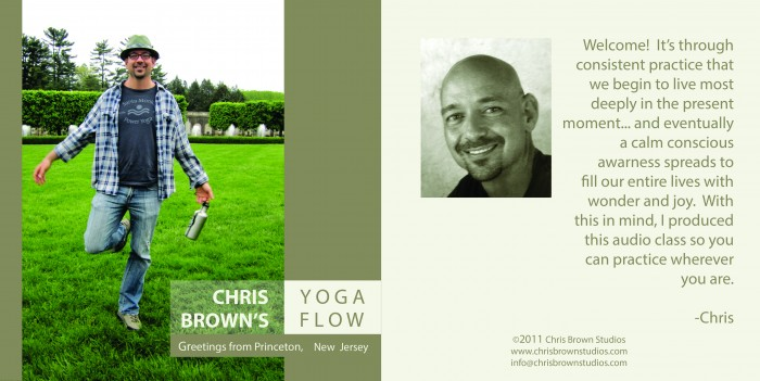 Yoga Flow Class Audio CD Cover