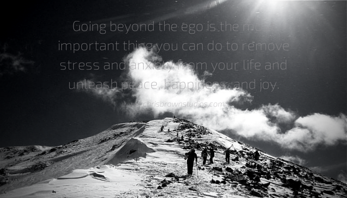 Going Beyond Ego