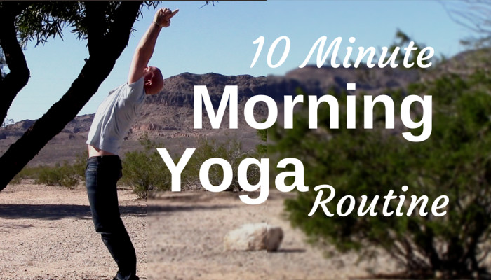 10 minute morning yoga routine